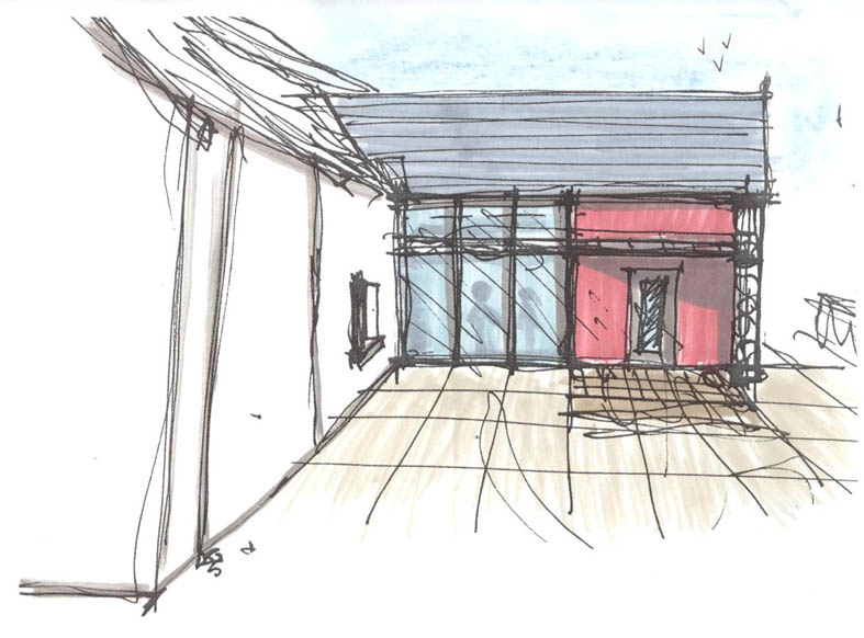 Concept Sketch Residential Extension